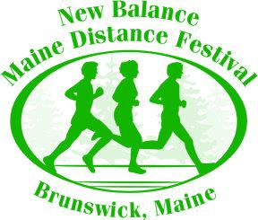 [ Maine Distance Festival Logo: runners under the pines ]